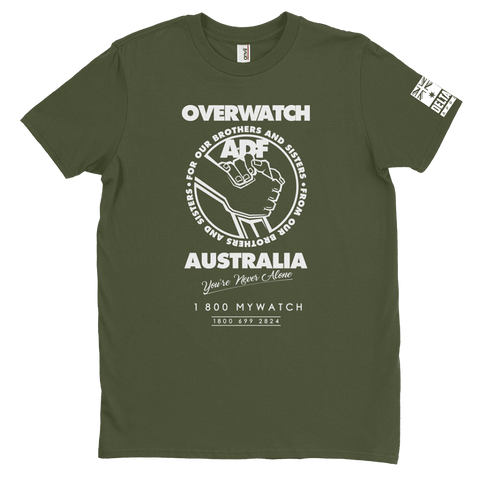 DeltaEchoApparel Shirts MALE / GREEN / M OVERWATCH AUSTRALIA - T-SHIRT