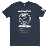 DeltaEchoApparel Shirts MALE / NAVY BLUE / M OVERWATCH AUSTRALIA - T-SHIRT