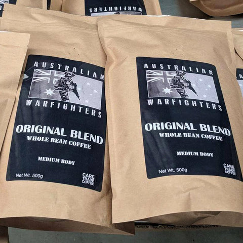 Scorpion Projects Coffee AUSTRALIAN WARFIGHTERS - WHOLE BEAN COFFEE