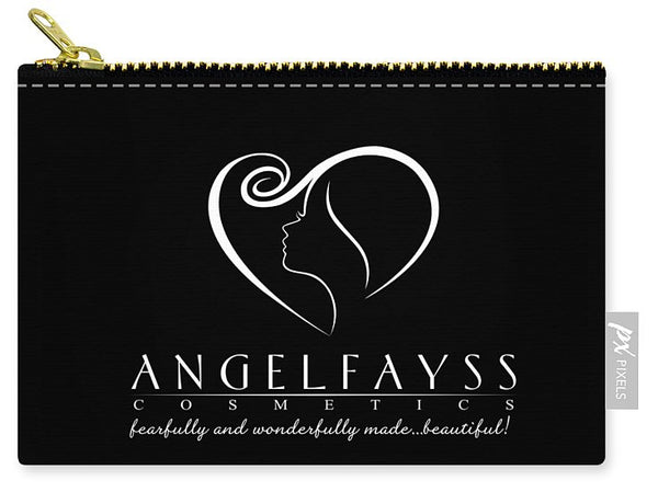 White & Black AngelFayss Carry-All Pouch