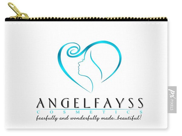 Blue & White AngelFayss Carry-All Pouch