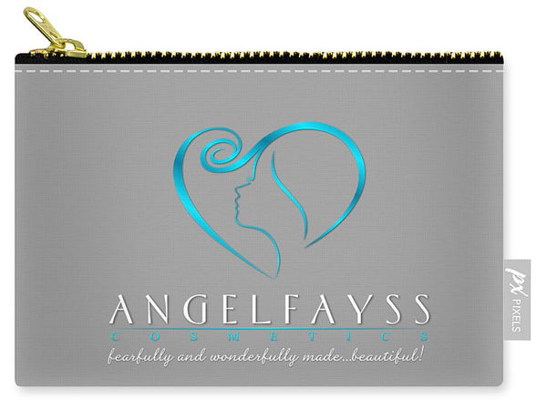 Blue & Grey AngelFayss Carry-All Pouch