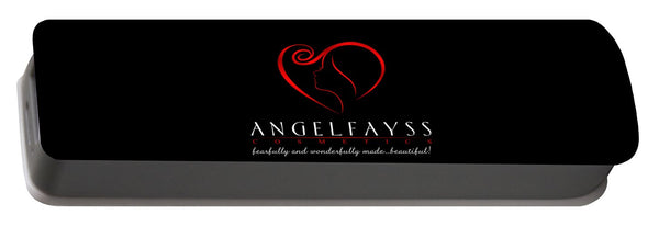 Red & Black AngelFayss Portable Battery Charger