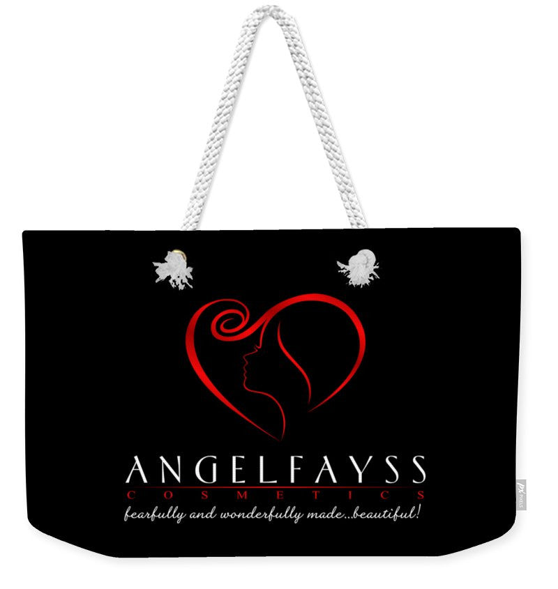 Red & Black AngelFayss Weekender Tote Bag