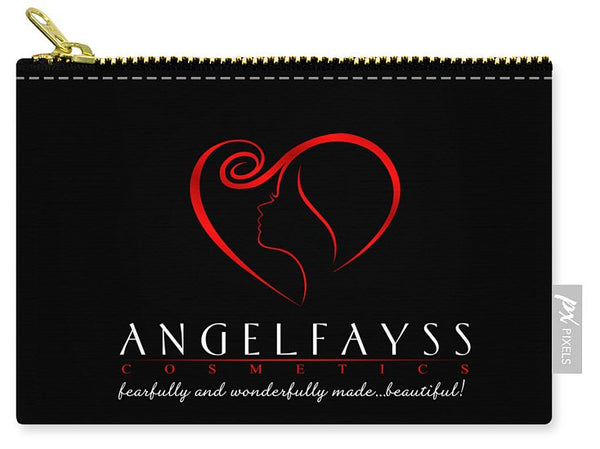 Red & Black AngelFayss Carry-All Pouch