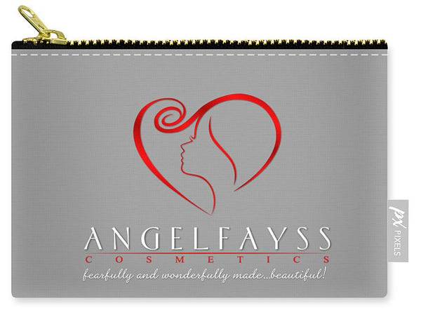 Red & Grey AngelFayss Carry-All Pouch