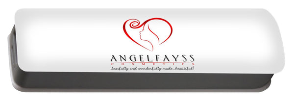 Red & White AngelFayss Portable Battery Charger