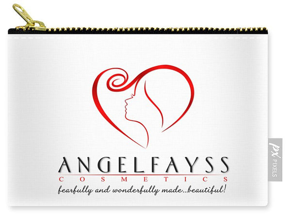 Red & White AngelFayss Carry-All Pouch
