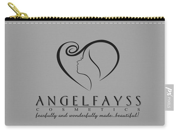 Black & Grey AngelFayss Carry-All Pouch