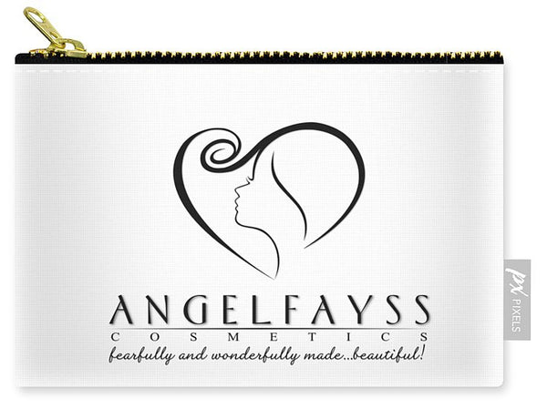 Black & White AngelFayss Carry-All Pouch