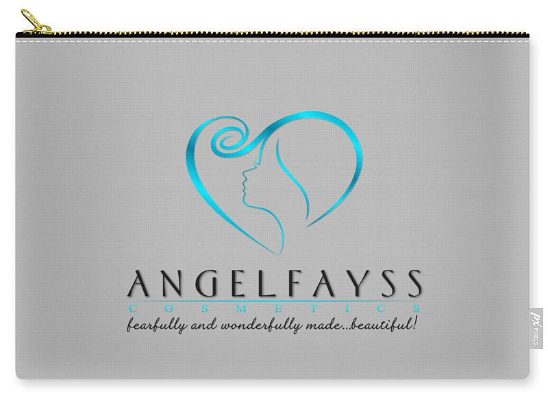 Blue, Black & Grey AngelFayss Carry-All Pouch