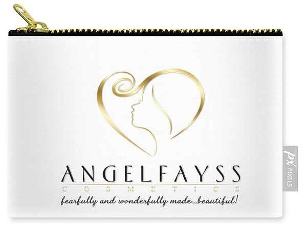 Gold & White AngelFayss Carry-All Pouch
