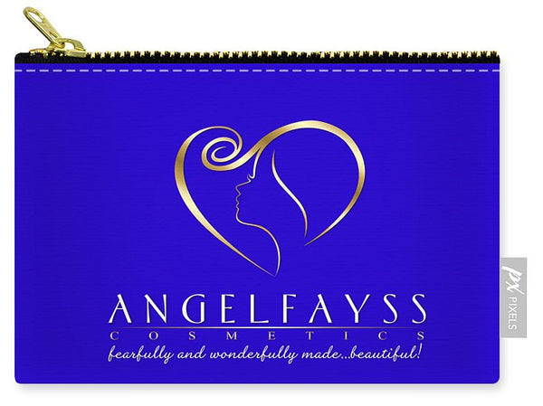 Gold & Blue AngelFayss Carry-All Pouch