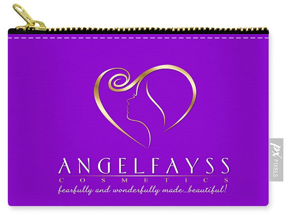 Gold & Purple AngelFayss Carry-All Pouch