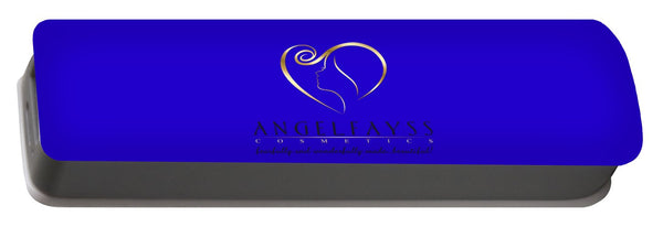 Gold, Black & Blue AngelFayss Portable Battery Charger