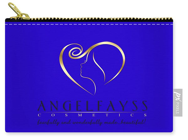 Gold, Black & Blue AngelFayss Carry-All Pouch