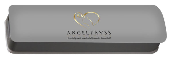 Gold, Black & Grey AngelFayss Portable Battery Charger