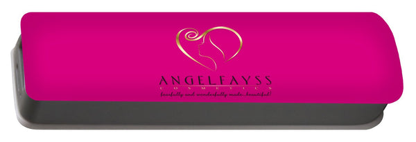 Gold, Black & Pink AngelFayss Portable Battery Charger