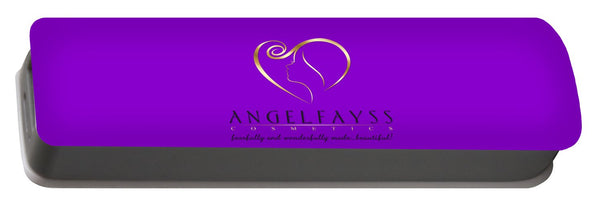 Gold, Black & Purple AngelFayss Portable Battery Charger