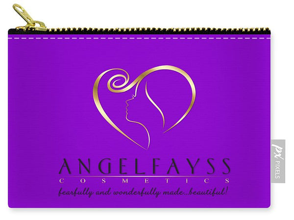 Gold, Black & Purple AngelFayss Carry-All Pouch