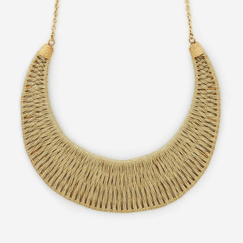 ARINNA WOVEN NECKLACE