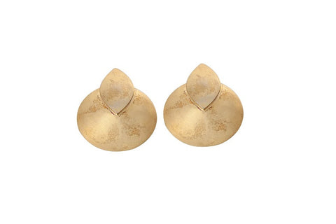 Dome Petal Earrings