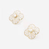 Infinite Petals Clear Resin Stud