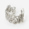 Silver Tentacle Waves Cuff