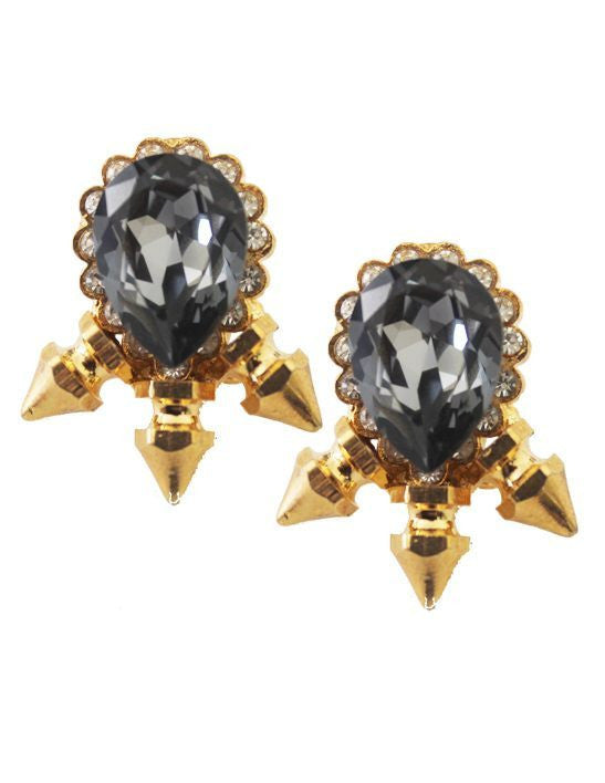 Black Current Studs