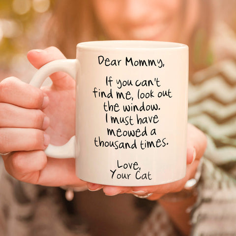 Meowed 1000 Times - Personalized Cat Mug