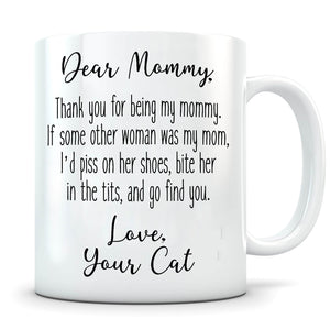 Piss On Her Shoes - Personalized Cat Mug
