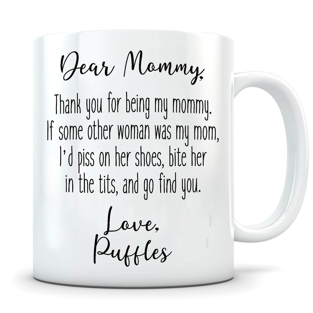 Piss On Her Shoes - Personalized Cat Mug - MisoPunny