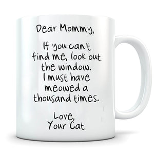 Meowed 1000 Times - Personalized Cat Mug - MisoPunny