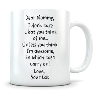 I'm Awesome - Personalized Cat Mug