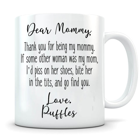 Image of Piss On Her Shoes - Personalized Cat Mug - MisoPunny