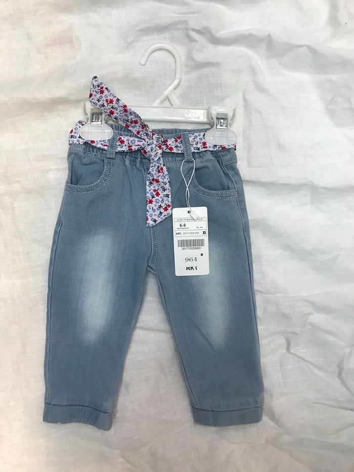 Girls's denim jeans