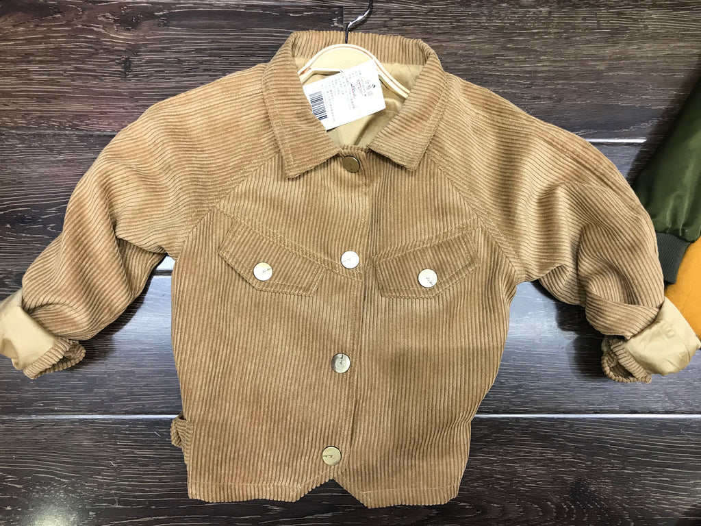 Girls' Curduroy Jacket