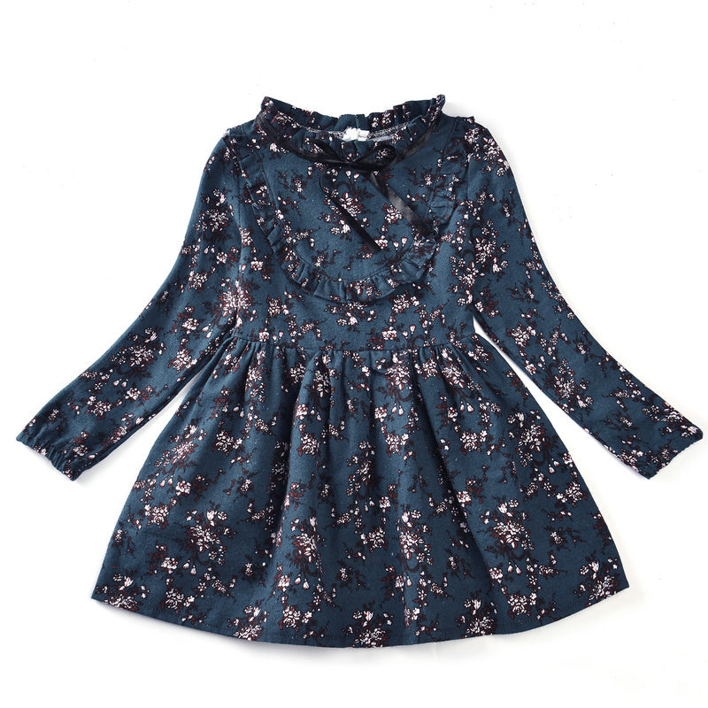 Girls Floral winter dresses