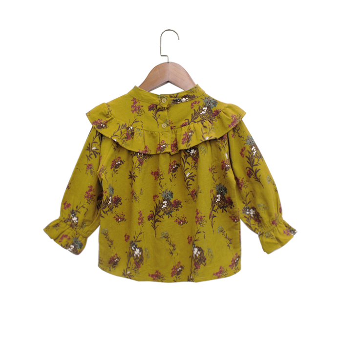 Girls Floral Autumn blouse
