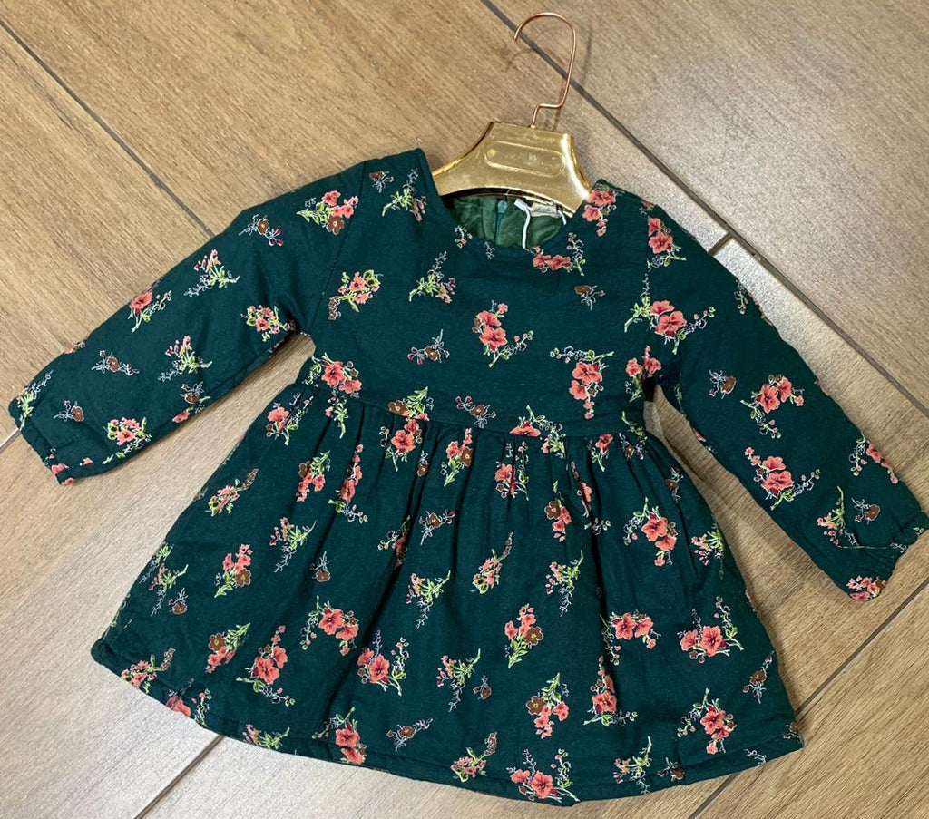 Lilly Floral Winter Dress