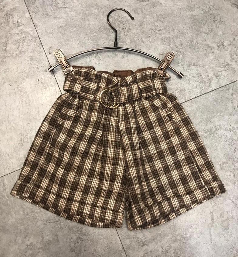 Girls winter shorts