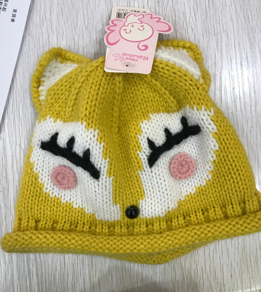 Winter fox Beanie