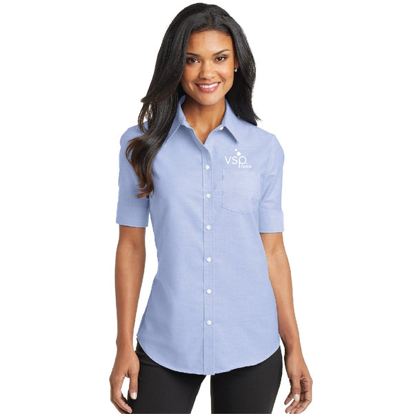 VSP Optics Ladies Super Pro Short Sleeve Oxford Shirt