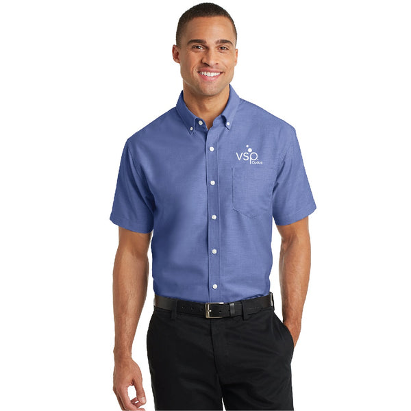 VSP Optics Men's Super Pro Short Sleeve Oxford Shirt