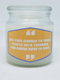 Use This Candle To Trick People Into Thinking You Can Bake