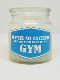 We're So Excited To Turn Your Room Into A Gym