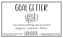 Goal Getter sassy vegan soy wax candle for the girl boss