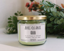 Juice Cleanse sassy and funny vegan soy wax candle from Evil Queen