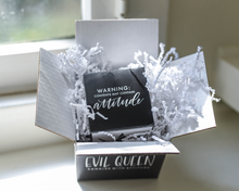 Evil Queen monthly candle subscription box gift for family and friends