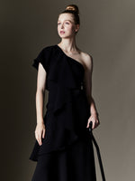 Asymmetrical Gown